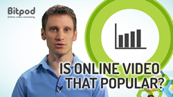 Is online video that popular