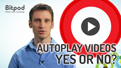 Should you use auto play videos on your website
