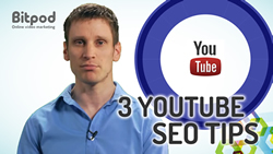 What are the three best ways to maximise SEO on YouTube videos