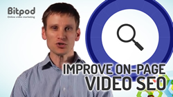 How can I improve the SEO of videos embedded on my website