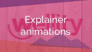 Explainer animations