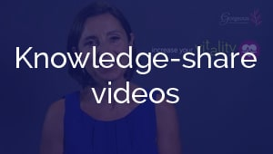 Knowledge-share videos